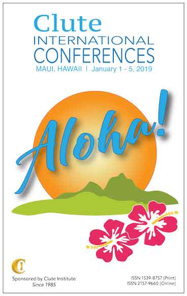 2019 Clute International Conferences Maui Proceedings