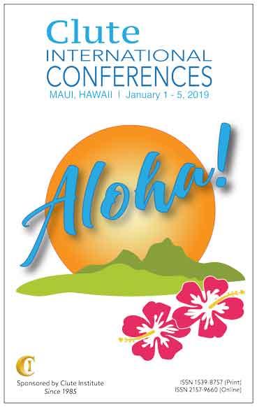 2019 Clute International Conferences Maui Proceedings